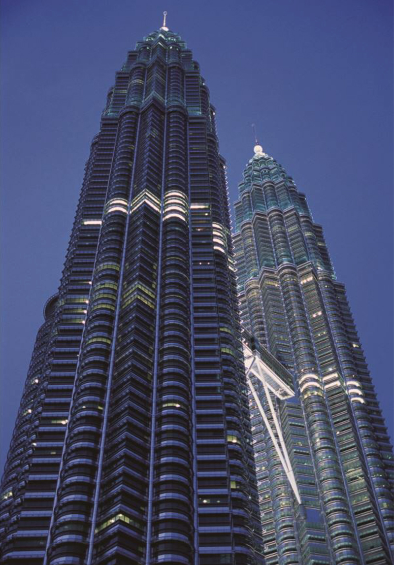 petronas towers built