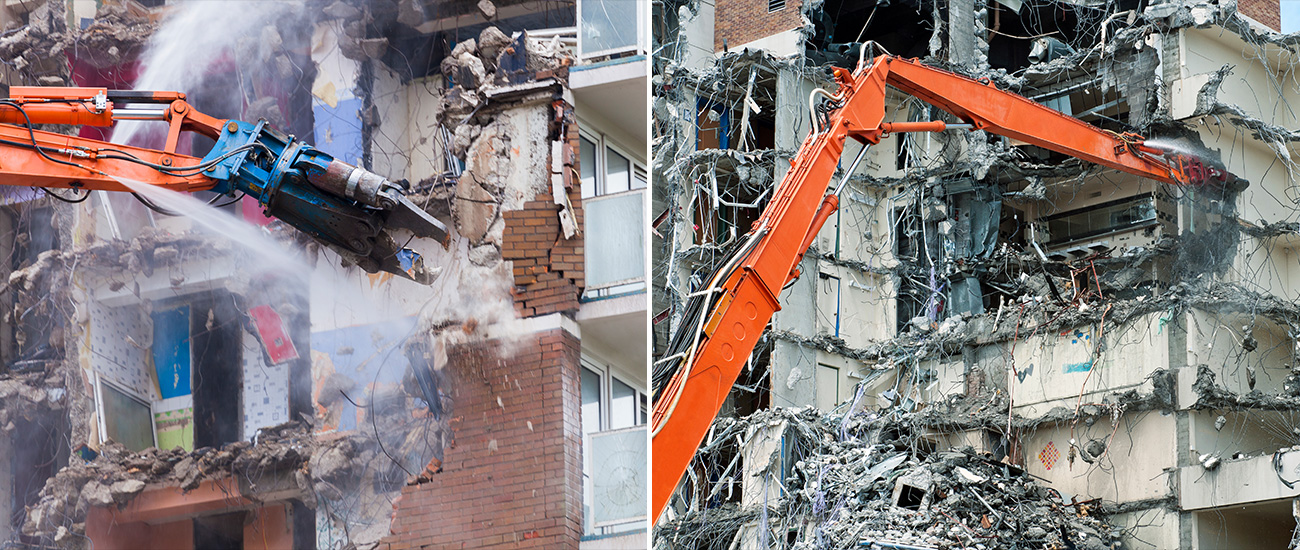 Do You Know How Buildings are Demolished? - Samsung C&T Newsroom