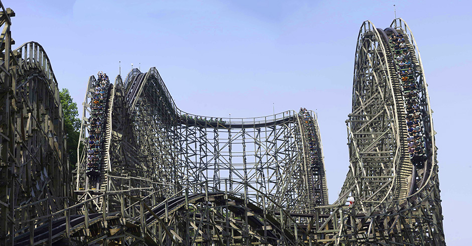 Wooden Wonders 5 Fantastic Wooden Roller Coasters Samsung Ct