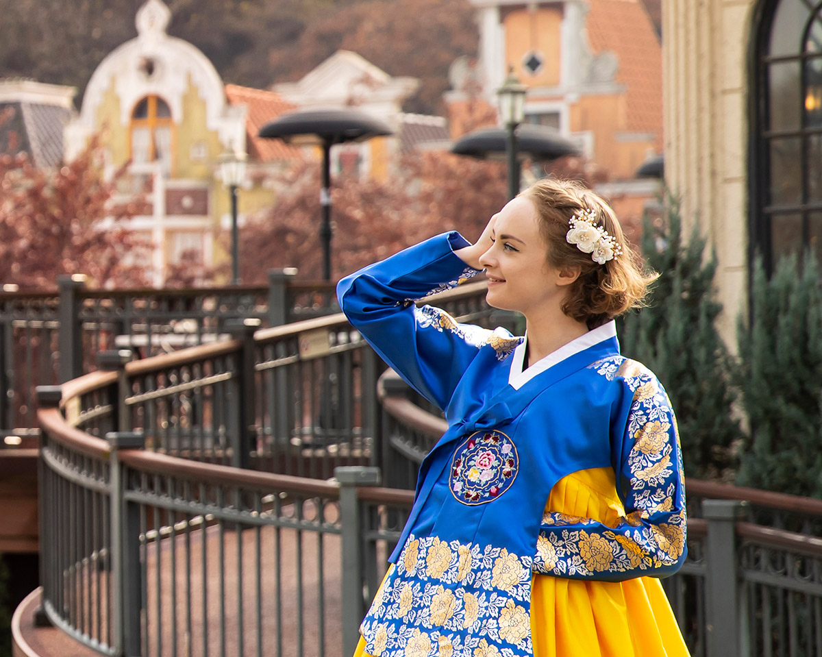 Hanbok in Everland