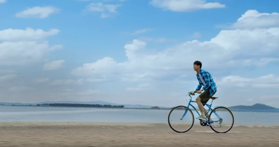 Jeung Island invites cyclists to explore the horizon. / Source: Beanpole Bike We Like program