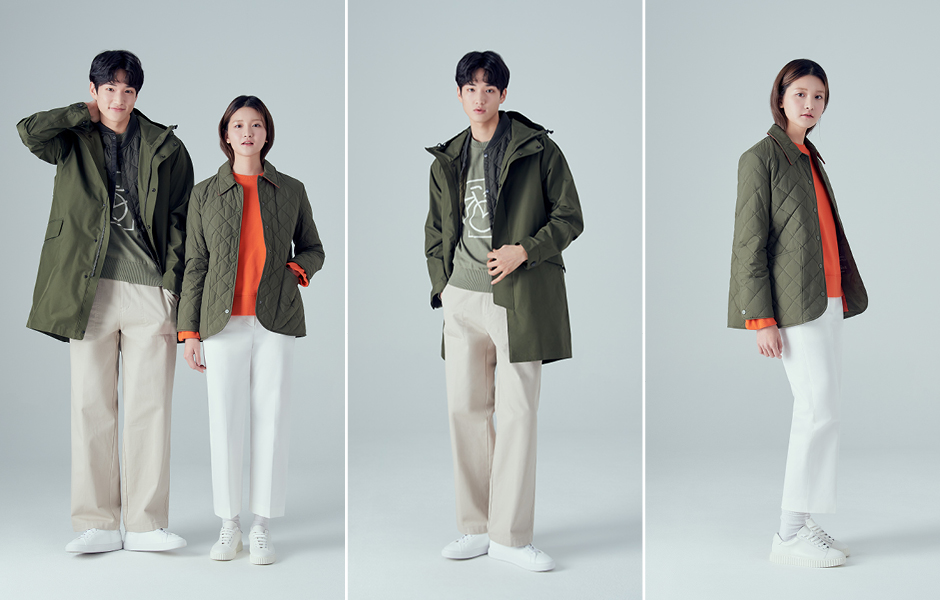 Beanpole's padded B-Cycle outerwear is eco-friendly without sacrificing warmth or protection from the rain.